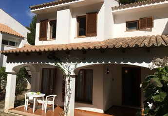Villa in Spain, Cala San Vicente: Spacious villa, front terrace sun in the morning