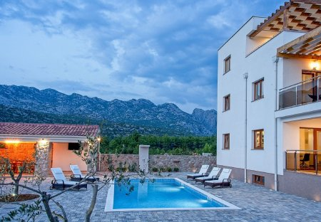 Villa in Seline, Croatia
