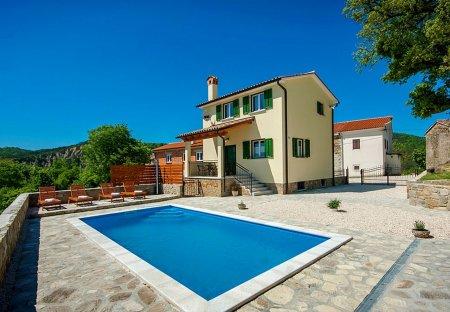 House in Grobnik, Croatia