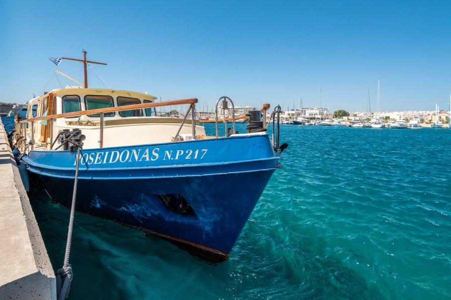 Boat in Greece, Rhodes Town