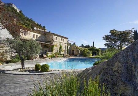 Villa in Les Baux-de-Provence, the South of France