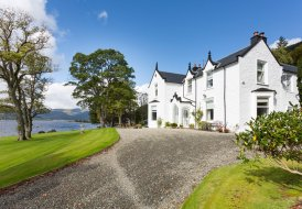 Chateau in Holy Loch, Scotland