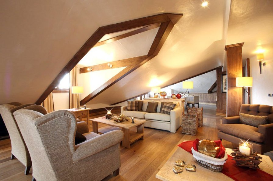 Chalet in France, Courchevel