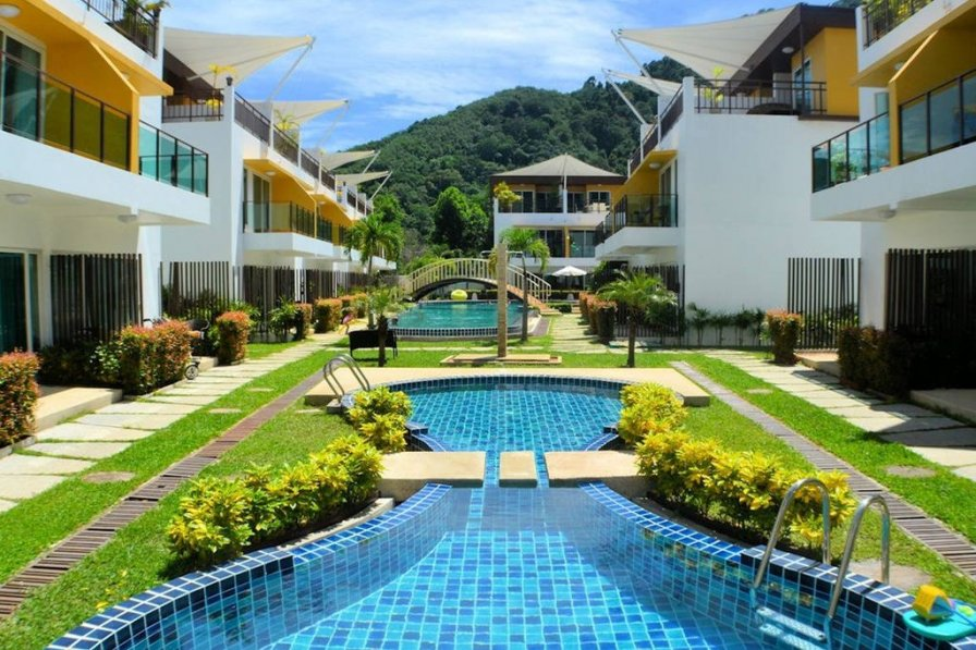 Holiday home with shared pool in Tambon Kammala, Thailand