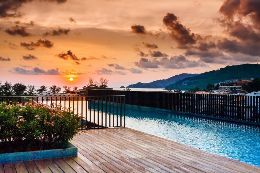Studio with shared pool in Patong beach, Phuket