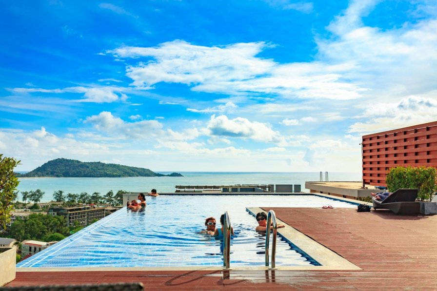 Apartment with shared pool in Patong beach, Phuket