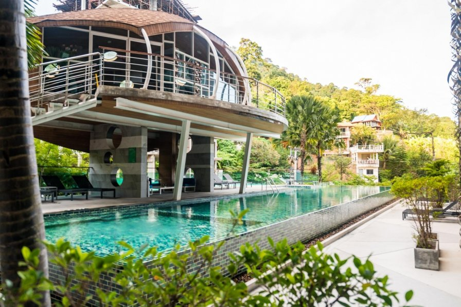 ET317 - Modern Patong studio, pool, gym and parking