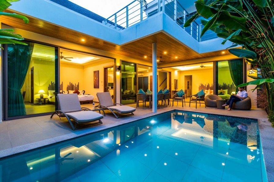 Ka Villa - Private pool villa near seafood market and beach