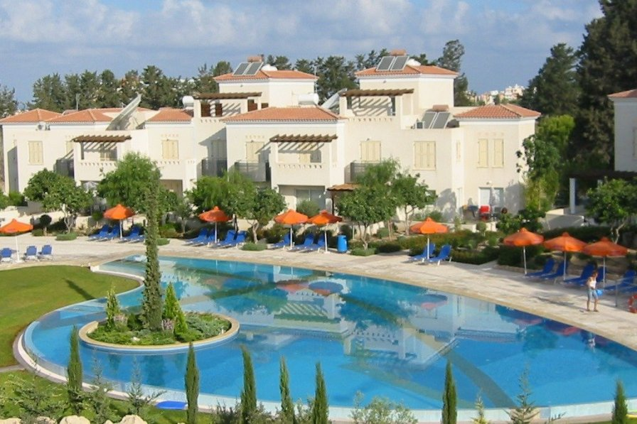 House To Rent In Paphos Cyprus With Swimming Pool 27915