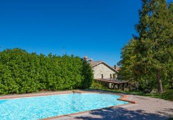 6 bedroom Villa for rent in Gubbio