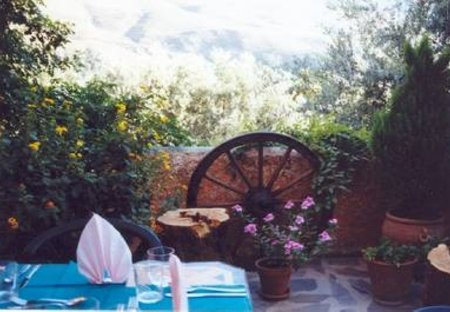 Cottage in Órgiva, Spain: One of our cozy terraces