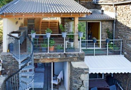 House in Sablières, France