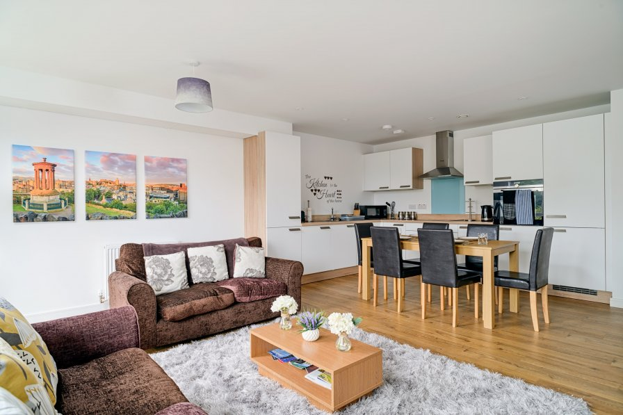 Apartment in United Kingdom, Meadowbank
