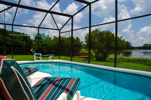 Villa in USA, Robbins Rest: Wonderful views from the pool