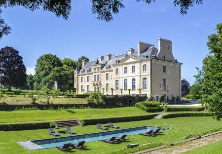 Chateau in Villers-Bocage, France