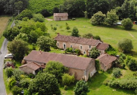 Country House in Bourrou, France