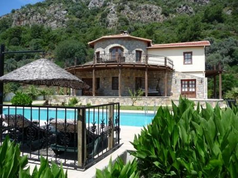 Villa in Turkey, Dalyan: over the pool