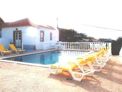 Villa in Portugal, Colares: Swimming Pool and Atlantic View