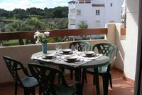 Apartment in Spain, Villamartin Plaza: Dining on the Terrace overlooking the Pool