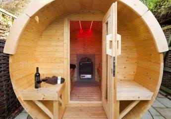 Cottage in United Kingdom, Stoke Ash: Barrell sauna Oak Cottage 02/11/18