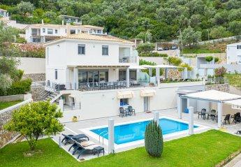 Villa in Greece, Ligia: 4 bedroom villa for holiday rent in Lefkada