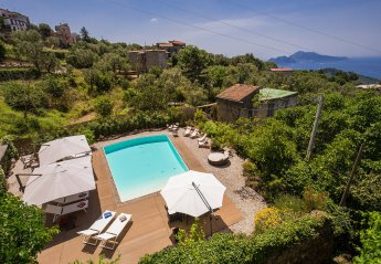 5 bedroom Villa for rent in Massa Lubrense