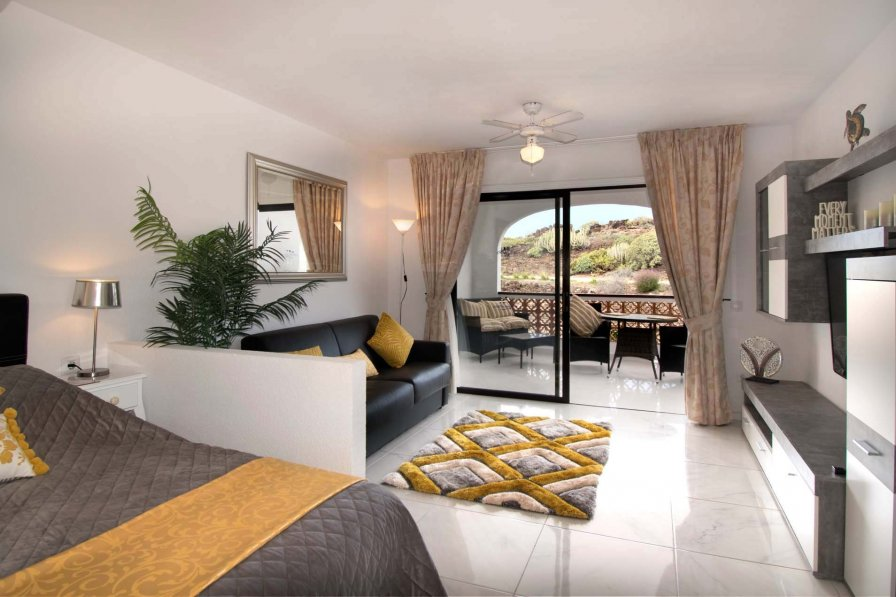 Studio apartment in Spain, Amarilla Golf