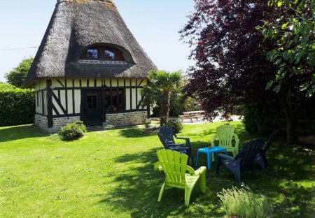 House in Fatouville-Grestain, France