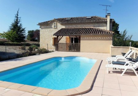 House in Castelnau-Montratier-Sainte-Alauzie, the South of France