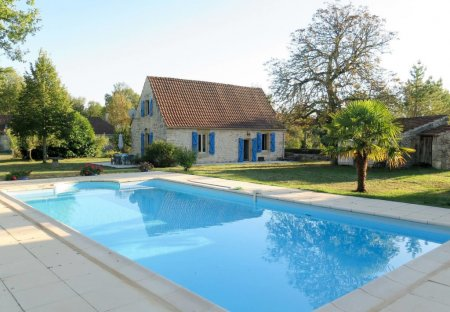 House in Pontcirq, the South of France
