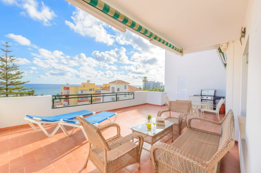 Apartment in Spain, Benalmádena Costa: Casa Isla de Benalmádena 3, approx 80 metres from the b..