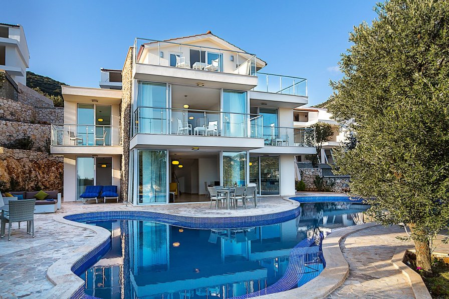 Villa To Rent In Kalkan Turkey With Private Pool 283196