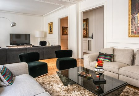 Apartment in Chaillot, Paris