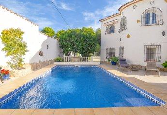 2 bedroom Villa for rent in Moraira
