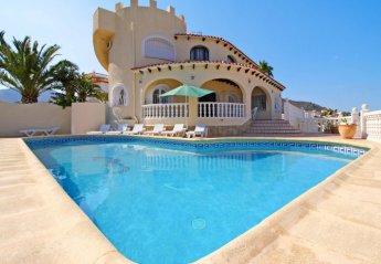 7 bedroom Villa for rent in Calpe
