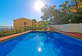 5 bedroom Villa for rent in Calpe