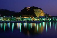 Apartment in Spain, Denia: Marina and Castle by night