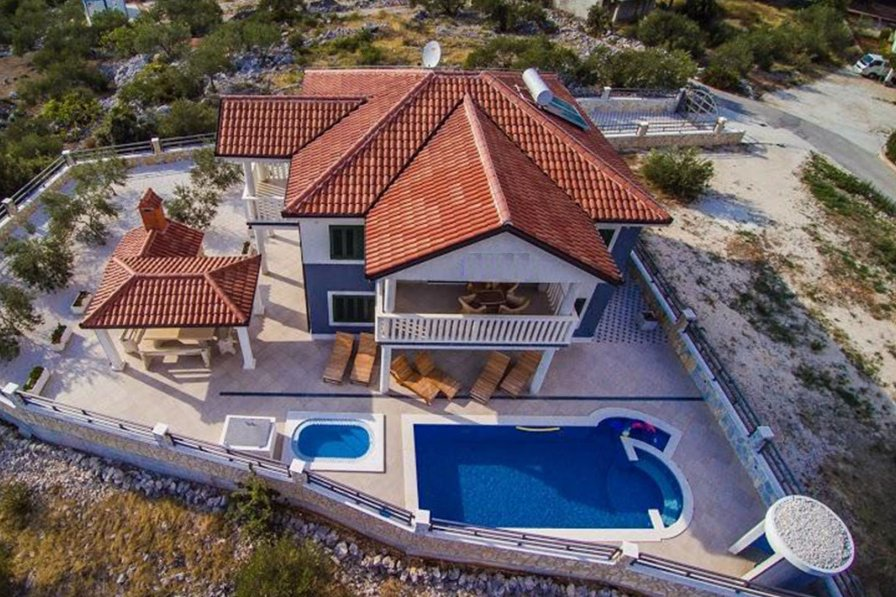 Villa in Croatia, Marina