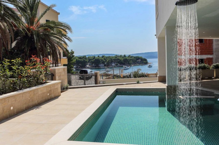 Luxurious villa Viola with pool and seaview - EOS-CROATIA