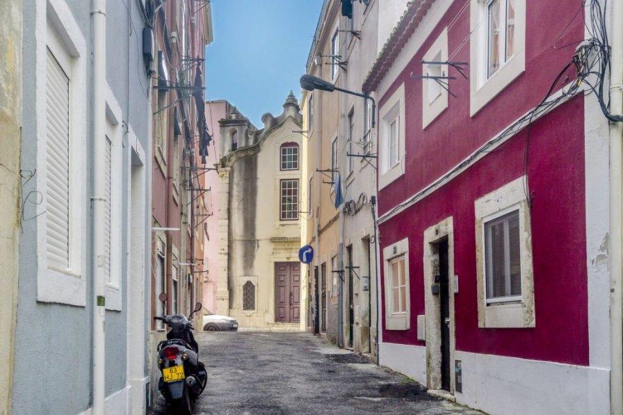 Studio apartment in Portugal, Săo Vicente de Fora