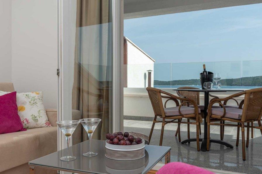 Penthouse apartment in Croatia, Seget Donji