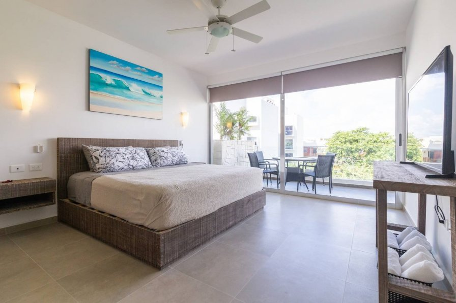 Exclusive condo / Safe area / 5 min from the beach
