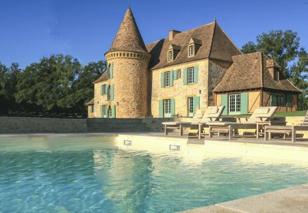 Chateau in Capdrot, France