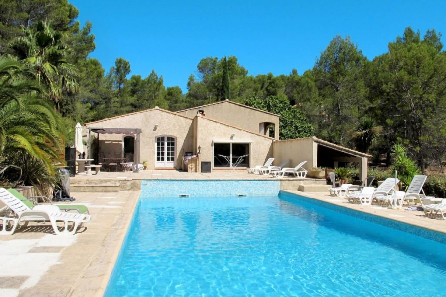 Ferienhaus mit Pool (PIG100)