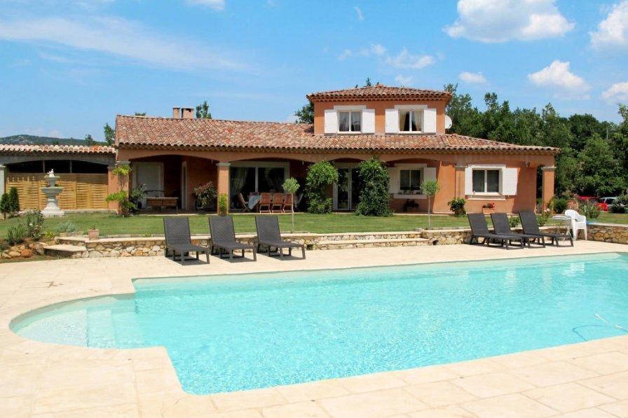 Ferienhaus mit Pool (SJU120)