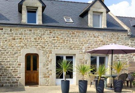 House in Plouhinec (Morbihan), France