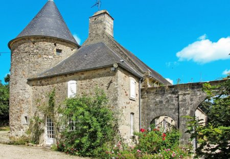 House in Flottemanville, France