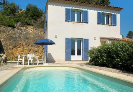 House in Sillans-la-Cascade, the South of France