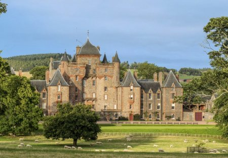 Chateau in Galawater and Lauderdale, Scotland
