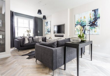 Town House in West End, London